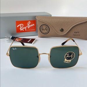 Rayban Sunglasses RB1971 914751 Gold/Green